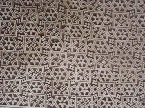 Muslim pattern in Delhi mosque