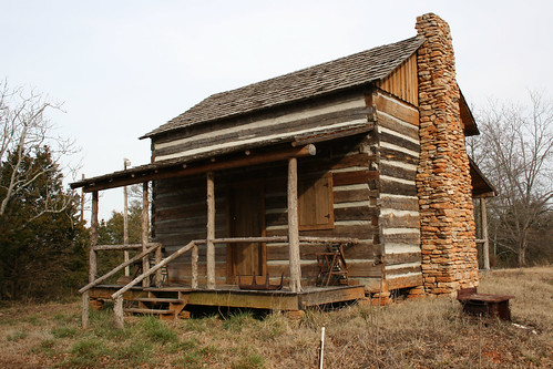 Restored Log Cabin - IMG_5350