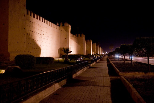 City Walls by Night