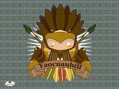 heraldico Yao (Yo Mostro) Tags: skull eagle aztec bones warrior huesos calavera aguila guerrero azteca craneo