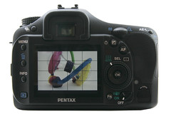 Pentax K20D - Back With Live View