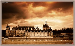 Storm Of History (Kinryuu_JFJ) Tags: light sky cloud storm france castle history monochrome sepia scenery heart scene ciel chateau nuage paysage 60 landscale chantilly picardie oise mybestphotos amazingshot 5photosaday a as mywinners mywinner anawesomeshot aplusphoto flickrhearts superbmasterpiece diamondclassphotographer flickrdiamond superbmasterpice superhearts eliteimages theperfectphotographer goldstaraward areyoureadyforthenewadventure