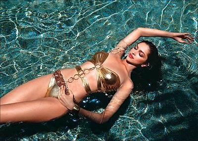 girl bikini model