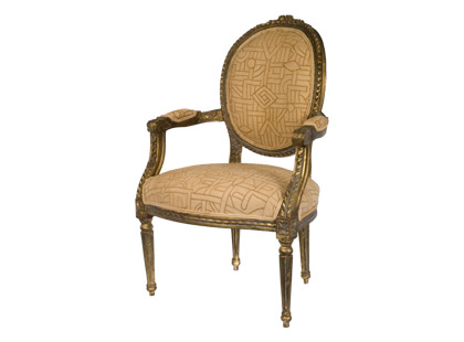 gilt kuba chair jayson home and garden