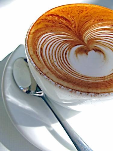 coffee art...