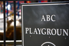 ABC No Playground by EssG, on Flickr