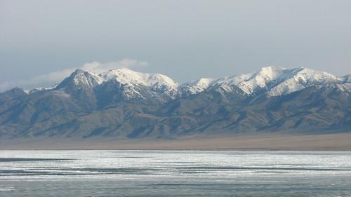 A lake near Santai, Xinjiang Province, China