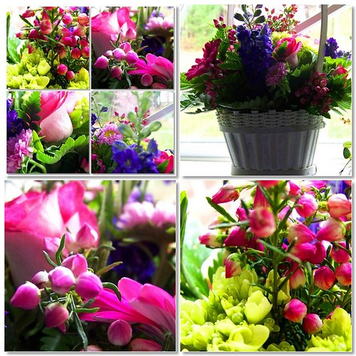 A Basket of May Flowers