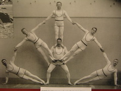 SPORT (kasia o) Tags: old history sport germany deutschland pyramid exhibition oldenburg landesbibliothek 200jahresportinoldenburg