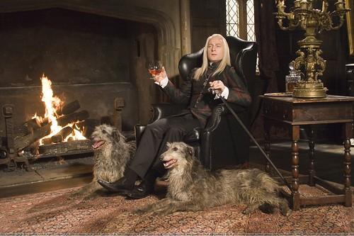 Harry Potter y el misterio del príncipe, Lucious Malfoy