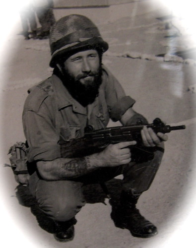 Uncle John in the Israeli Army