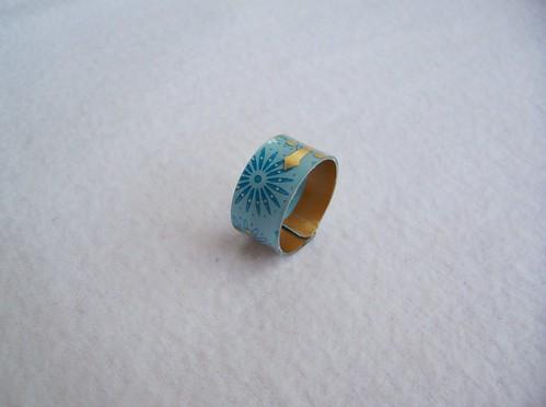 Blue Starbucks Ring
