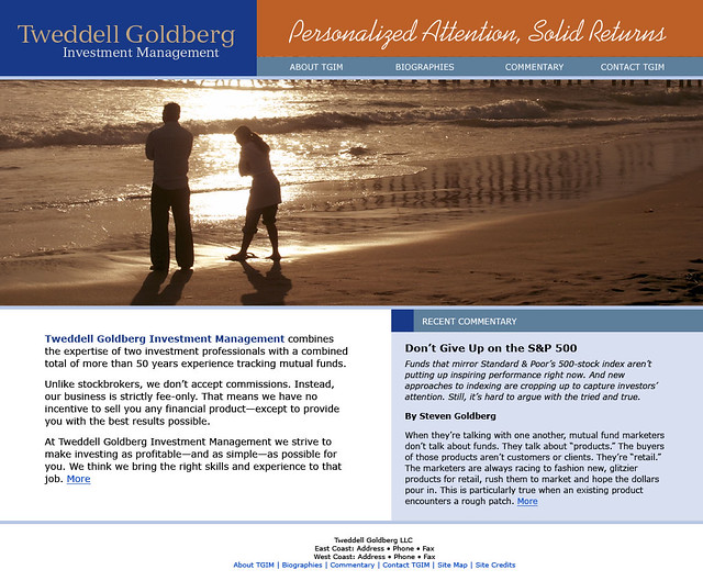 Tweddell-Golberg Investment Management