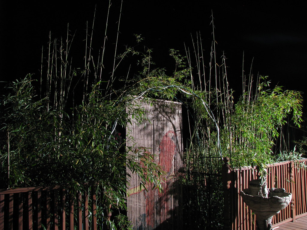 how to build a bamboo arch