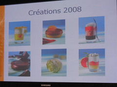Pierre Hermé: Power point presentation - 2008 new products