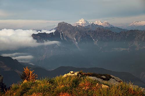 Monte Tamai panorama