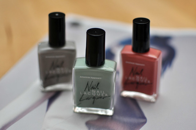 American Apparel Nail Lacquer