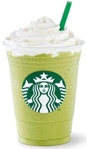 starbucks coffee soy green tea