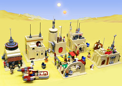 Mos-Eisley-Modules-Diorama (baronsat) Tags: mos lego diorama eisley modules tattoine