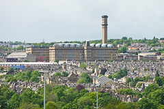 Manningham Mill, from Peel Park by Tim Green aka atoach