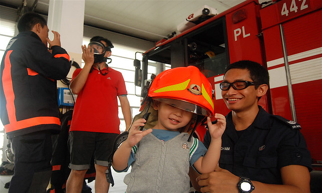 at Bukit Batok Fire Station