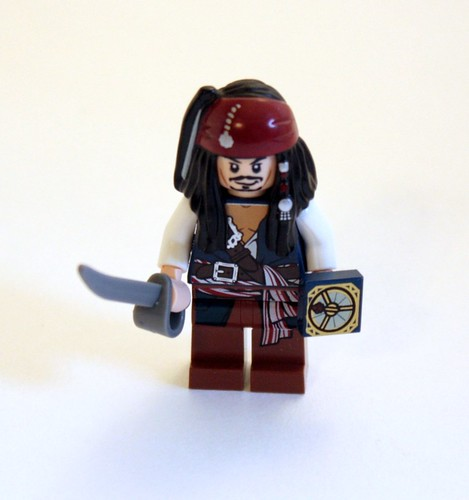 Much like other sets... I was over Jack Sparrow after building all of these. And kept wishing one would turn out to be Captain Jack Harkness instead