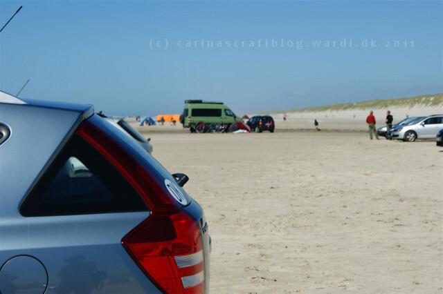 Beach Vejers Denmark