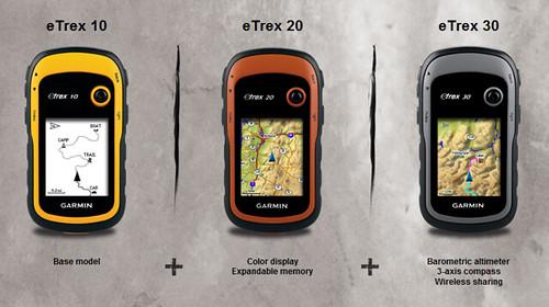 Neue Garmin eTrex Serie
