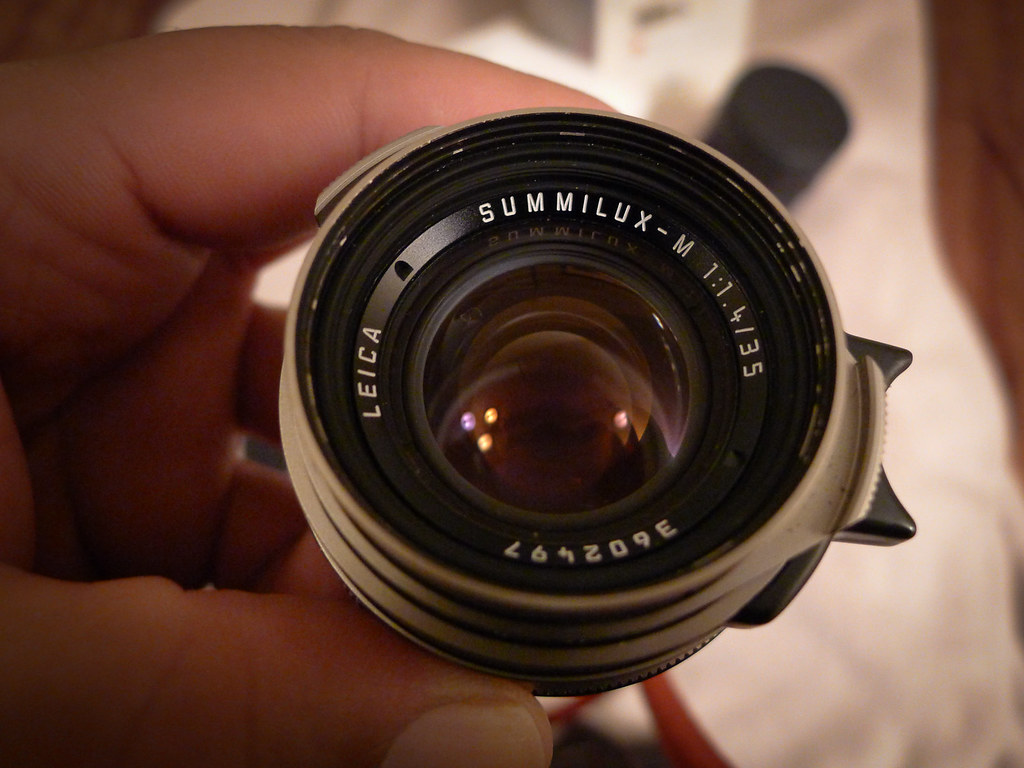 SOLD- Summilux 35 mm f/1 4 pre asph - Titanium (German build