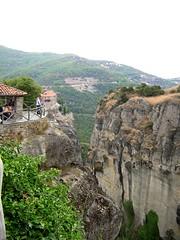 View from Megalo Meteoron (cod_gabriel) Tags: rock landscape rocks view greece grecia griechenland grce grece meteora grcia griekenland yunanistan grekland grecja stanca peisaj   stanci grkenland hellenicrepublic grgorszg  ecko        yunani