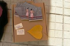 флайъри на книготека + листе (bistra2) Tags: листа 2007 Пловдив handmadeday