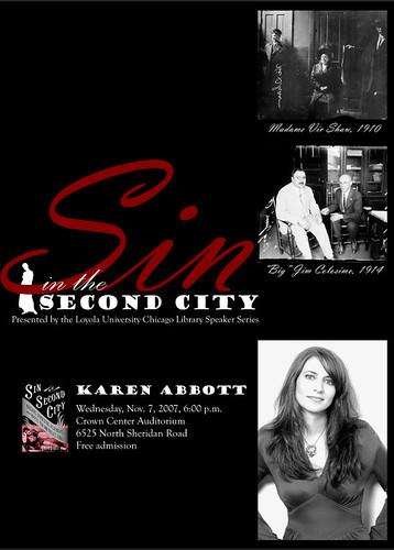 Speaker Series: Karen Abbott