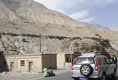 Checkpoint (colincookman) Tags: china cliffs xinjiang checkpoint karakullake ghez