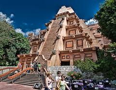 Mayan Segway (iceman9294) Tags: mexico epcot bravo pyramid yucatan disney mayan segway waltdisneyworld chriscoleman worldshowcase mayantemple infinestyle iceman9294