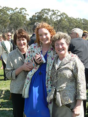 Deb and Georgina Hilder and Kerrie Nogrady