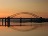 Runcorn dawn (Mr Grimesdale) Tags: bridge reflection sunrise dawn cheshire sony mersey runcorn widnes halton capitalofculture tranquill rivermersey runcornbridge mrgrimsdale stevewallace capitalofculture2008 liverpoolcapitalofculture2008 dsch2 europeancapitalofculture2008 widnesbridge photofaceoffwinner liverpoolcapitalofculture pfogold mrgrimesdale grimesdale