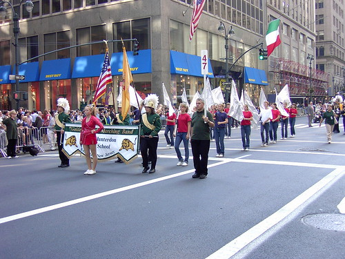 NYC Columbus Day 2007 - Golden Lions Marching Band