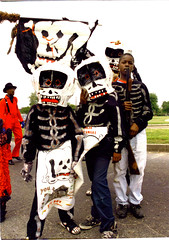 The Bones Gang-New Orleans (Ed Newman) Tags: neworleans supersunday secondline bonesgang thenorthsideskullandbonesgang