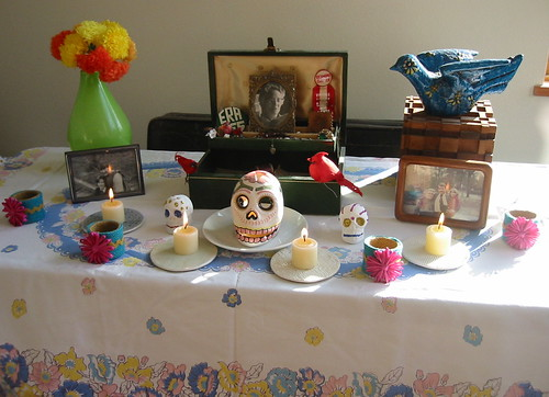 My Day of the Dead altar 2007