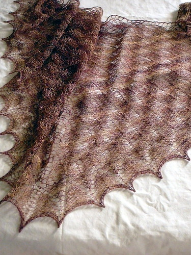 Shawl--ShetlandResting