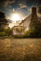 Dranesville Tavern (GHD PHOTOGRAPHY & DESIGN) Tags: sunset photoshop landscape virginia adobe tavern pro alpha hdr 2007 lightroom dranesville photomatix 5xp hdrsoft anawesomeshot alphasony