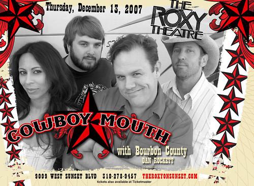 Cowboy Mouth - 12/13