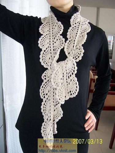 white scarf-a