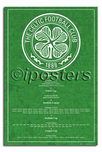 0296 Celtic FC Honours Poster | Flickr - Photo Sharing!