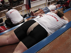 Russia takes a nap between fights
