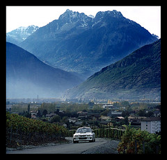 Valais35 ~ taken by Claire (I'm in the car). (moi_images) Tags: switzerland du wrc subaru impreza rallye valais