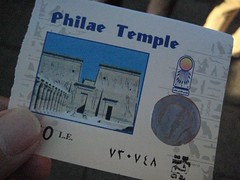 philae temple ticket