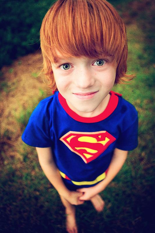 distorted superman ;-)