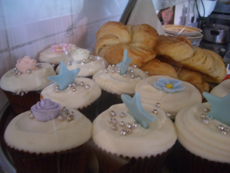 Butterfly Cafe cupcakes