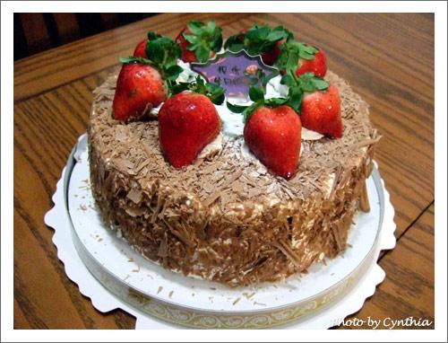 大草莓蛋糕